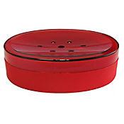 Jabonera Plástica Rojo
