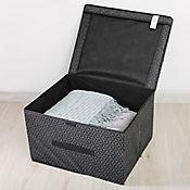 Caja Organizadora Negra 30x40x50 cm Negro