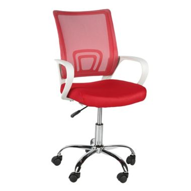 Escritorio De B7gy6yvf Home Con Just Style Silla Collection Brazos Roja ZTiPuOkX