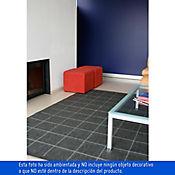 Tapete Decorativo Cuadros Grises 160x230 cm