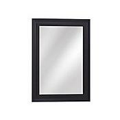 Espejo Decorativo 79x108 cm Negro