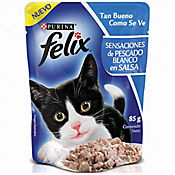 Felix Pouche Pescado Blanco En Salsa 85 gr