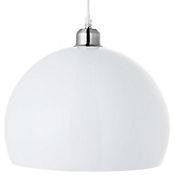 Lámpara Colgante Ball 1 Luz E27 Blanco