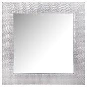 Espejo Decorativo 40x40 cm Plateado