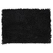 Tapete para Baño Shaggy 43x61 cm Elite Negro