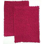 Set x2 Tapetes para Baño Algodón Shaggy