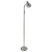 Lámpara de Pie Plata Melissa 1 Luz E27 Metal