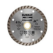 Disco Diamantado Turbo 4 1/2 Pulgadas  Ref DW47450HP