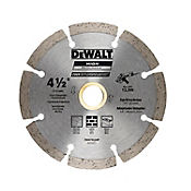 Disco Diamantado Segmentado 4 1/2 Pulgadas  Ref DW47452HP