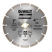 Disco Diamantado Segmentado 7 Pulgadas  Ref DW47702HP
