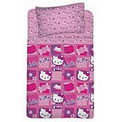 Juego de Cama Semidoble Hello Kitty Mosaico