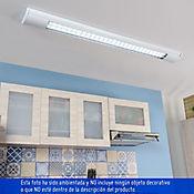 Lámpara LED 2 x 18w T8 blanca