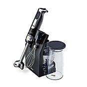 Batidora/Licuadora de Inmersión 4 en 1-Negro 250 watts