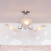 Lámpara De Techo Milán 3 Luces Rosca E27 Versalles