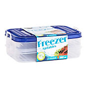 Set x 2 Recipientes de 960 ml Freezer