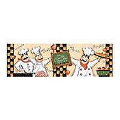 Listón Cerámico Bon Apetit 13.5x43 Centímetros Multicolor