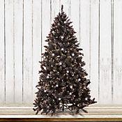 Árbol Navidad 2.1 mt Negro Brillantes