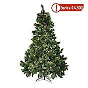 Árbol Navidad 2.1 mt 1296 Ramas Verde Estrella