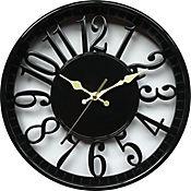 Reloj Negro 3D Transparente
