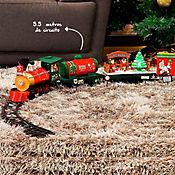 Tren 33 Piezas 5.5m Polo Norte Navidad
