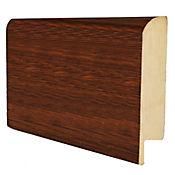 Guardaescoba 7,8x1.2x240 cm Roble Bourbon
