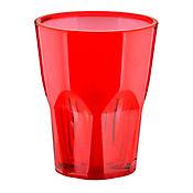 Vaso Rojo de 330 cc