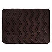 Tapete para Baño Foam  43x61 cm  Waves Café