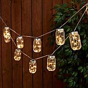 Guirnalda LED 10 Luces Luz Cálida