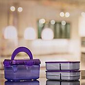 Lonchera Clip Cuadrada Purpura