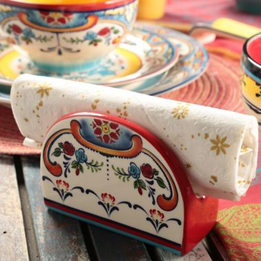 Servilletero Zanzibar en Cerámica - Euro Ceramica - 296402 8363e48ae947