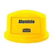 Tapa Domo Brute 121 Lt Aluminio