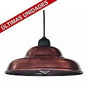 Lámpara Colgante Alabama 1 Luz Rosca E27 60w Cobre - Antique