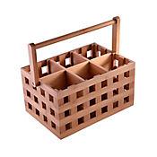 Recipiente + Untensilios en Bamboo