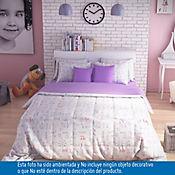 Comforter Doble 144 Hilos 100% Algodón Kara