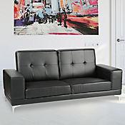 Sofá 3 Puestos Bellagio Negro 196x79x88cm