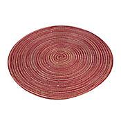 Individual Redondo de 36 cm Rojo