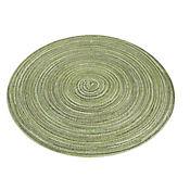 Individual Redondo de 36 cm Verde