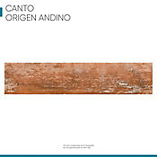 Canto Rigido 22 mm X 1 m Origen Andino