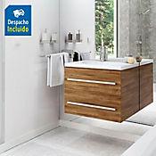 Mueble de baño Misus 63X48 cm con lavamanos Venecia Blanco