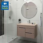Kit lavamanos Parma bone con mueble Tiziano Rh 79x48 cm Serena