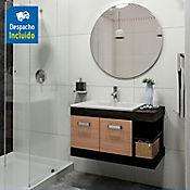 Mueble de baño Vivaldi 63X48 cm con lavamanos Trentino Blanco