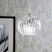 Lámpara Colgante Globo 1 Luz E27 Acrílico