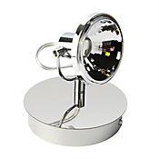 Lámpara Techo LED 3w 1 Luz Dirigible Cromo