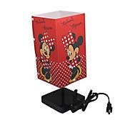 Lámpara de Mesa Minnie 1 Luz Rosca E27 Estampada