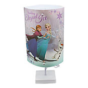 Lámpara de Mesa Ovalada Frozen 1 Luz Rosca E27 Estampada
