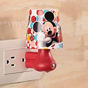 Luz de Noche LED Integrado Mickey 2 Luces Estampada