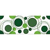 Cenefa baño orbit verde 15x40cm