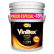 Pintura Viniltex Blanco 5 Galones Paredes/Muros Interior y Exterior