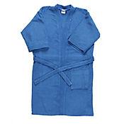 Bata de Baño para Hombre 100% Algodón 350 gramos Azul