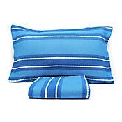 Juego de Sobrecama Juanita Sencillo 200x250 cm Azul